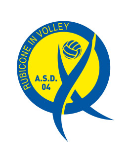 logo rubicone in volley