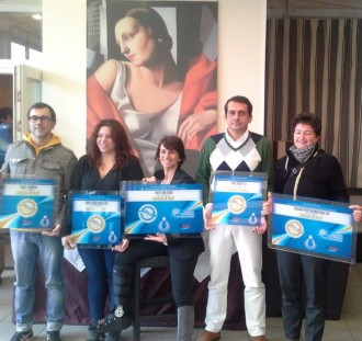 Consegna certificati Romagna in Volley