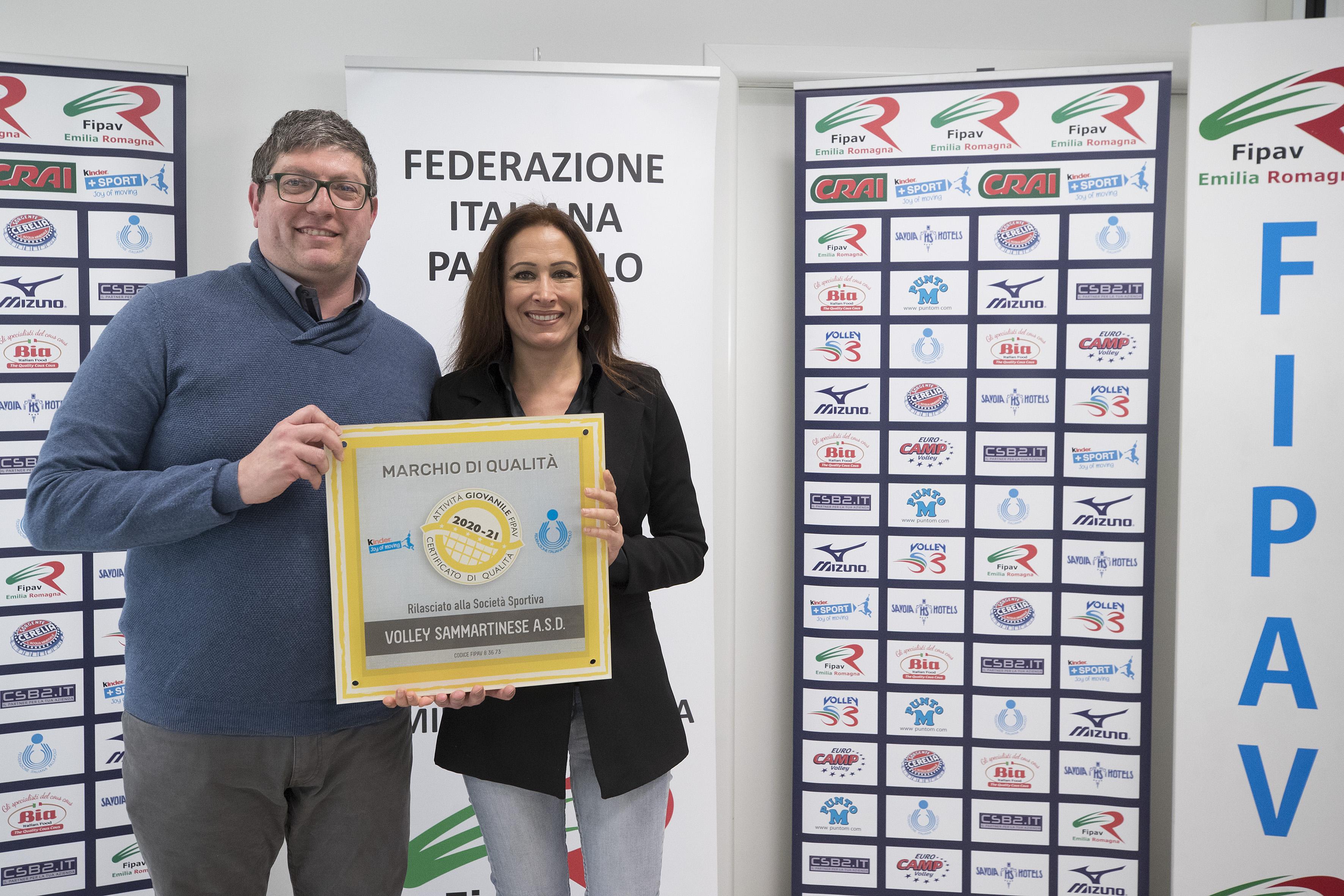 FIPAV EMILIA ROMAGNA - Premiazione marchi di qualità